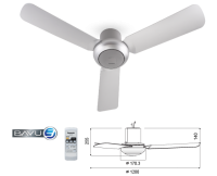 Panasonic Bayu JR Ceiling Fan [F-M12D2]