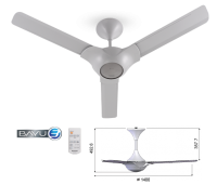 Panasonic Bayu 3 Ceiling Fan [F-M14C2]