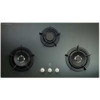Electrolux 3 Burners 'FORZA' Glass Hob [EGT-7637EG]