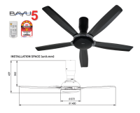 Panasonic Ceiling Fan [F-M14D5 DG]