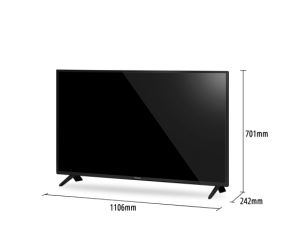 "Panasonic 49"" 4K HDR10+ Smart LED TV [TH-49GX600K]"