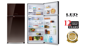 Toshiba 2 Door Fridge [GR-WG76MDAZ (PGB)