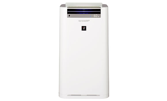 Sharp Plasmacluster Air Purifier [KCG-60LW] - Click Image to Close