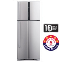 Hitachi 2 Door Fridge [R-V580P3M SLS]