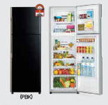 Hitachi 2 Door Fridge [R-H270P4M PBK]