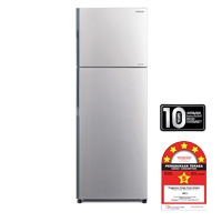 Hitachi 2 Door Fridge [R-H350P4M SLS]