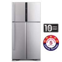 Hitachi 2 Door Fridge [R-V710P3MX STS]