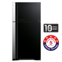 Hitachi 2 Door Fridge [R-VG580P3M GBK/GGR]