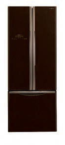 Hitachi French Bottom 3 Doors Fridge [R-WB490P2M GBW]