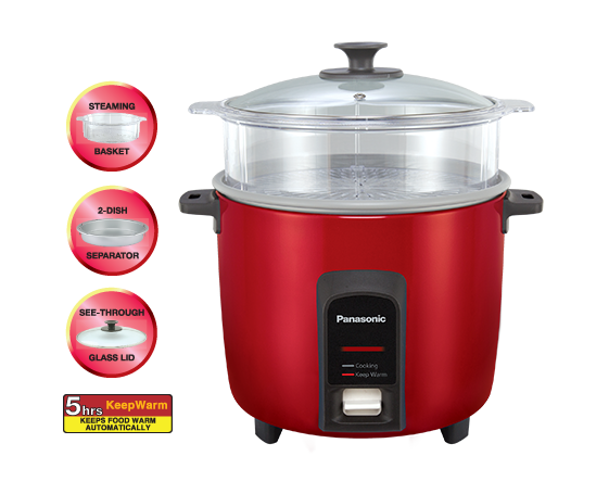 Panasonic Rice Cooker [SR-Y22FGJ] - Click Image to Close