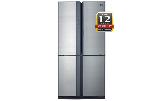 Sharp 'AVANCE' 4 Door French Fridge [SJF-95VMSS] - Click Image to Close