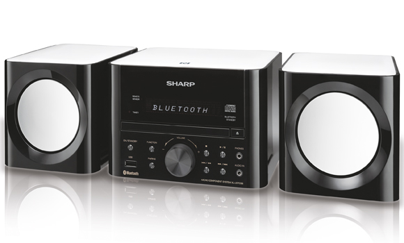 Sharp Stereo System [XLLS703BH] - Click Image to Close