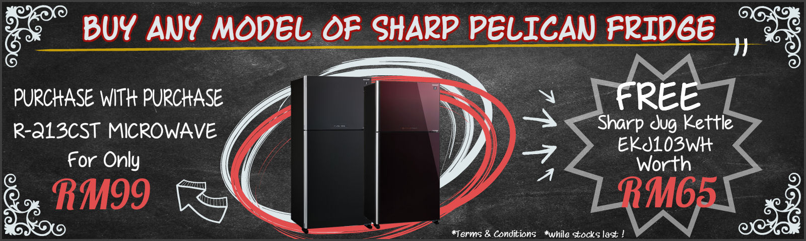 Sharp PELICAN Fridge on offer!!