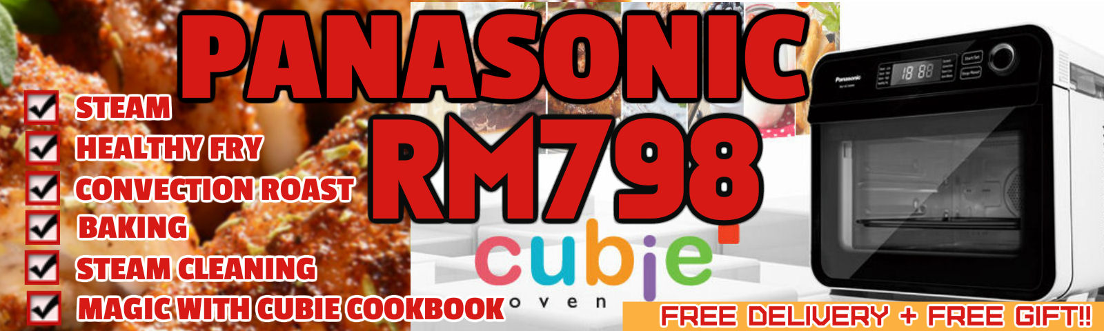Panasonic Cubie Oven on Offer RM798!!