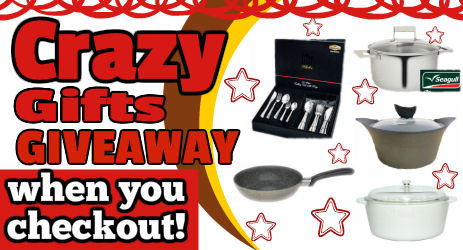 Crazy Gifts Giveaway!!